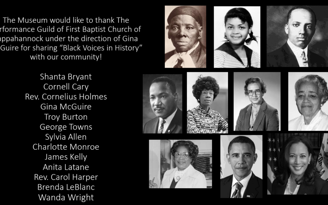 "View the ""Voices in Black History"" Program Online"